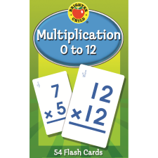 Multiplication 0 to 12 Learning Cards