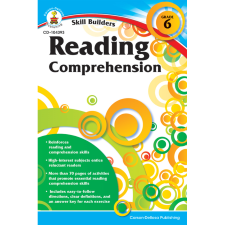 Skill Builders: Reading Comprehension Workbook Grade 6